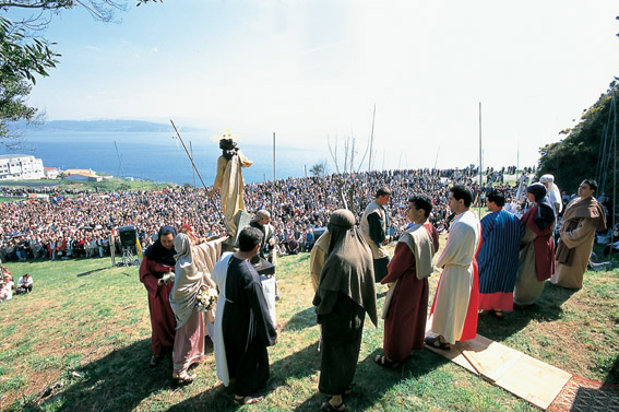 Romaria do Santo Cristo, Fisterra, Galicia