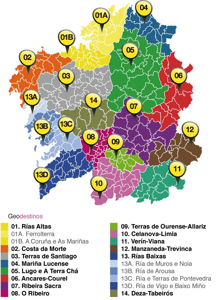 GALICIA TURISMO TURISMO DE GALICIA  Noticias  La Xunta presenta