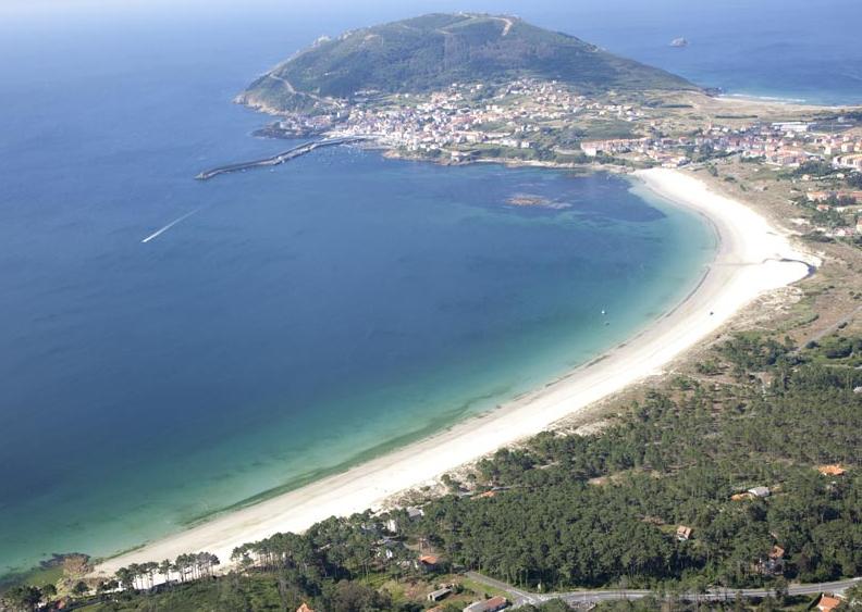 Langosteira beach