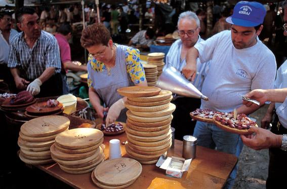 Fiesta del Pulpo O Carballiño (Ourense)