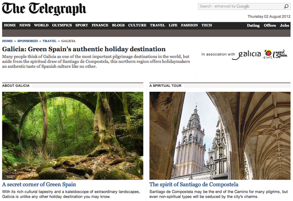 The Telegraph presents Galicia