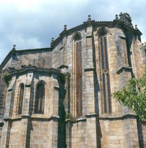 Ábside Igrexa de Sto Domingo-Ribadavia