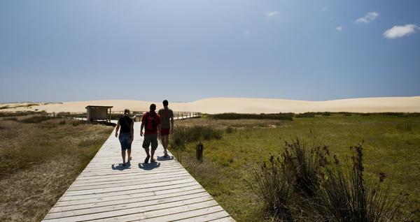 Complexo dunar de Corrubedo e lagoas de Carregal e Vixán