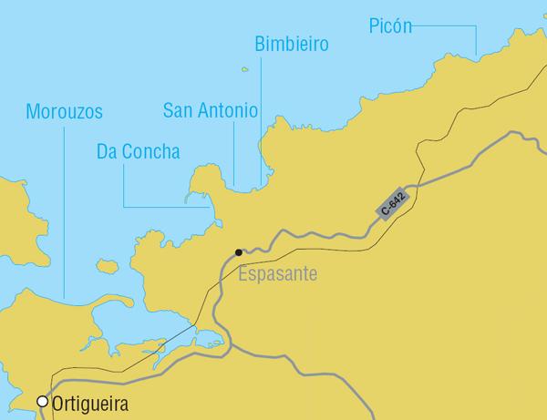 Mapa Ortigueira