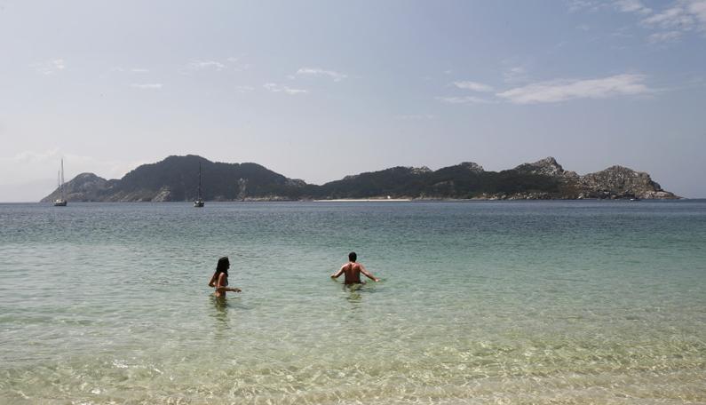 The Cíes Islands (Las Islas Cíes)