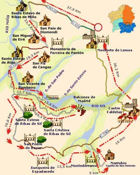 Tourist Routes: A Ribeira Sacra