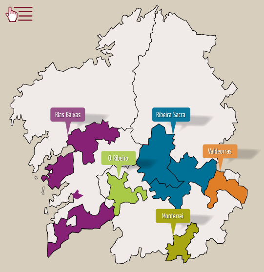 Wine routes in Galicia