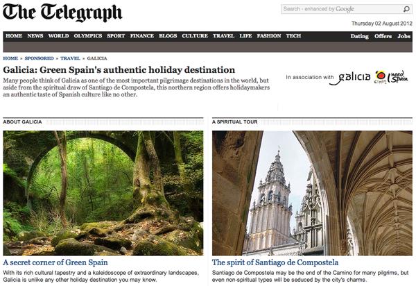 The Telegraph presents Galicia